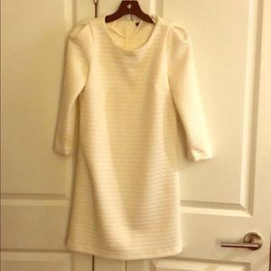 Club Monaco Winter White Dress